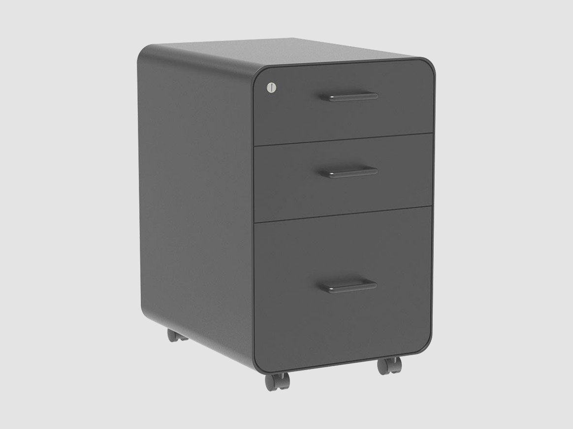 1 Drawer Rolling File Cabinet