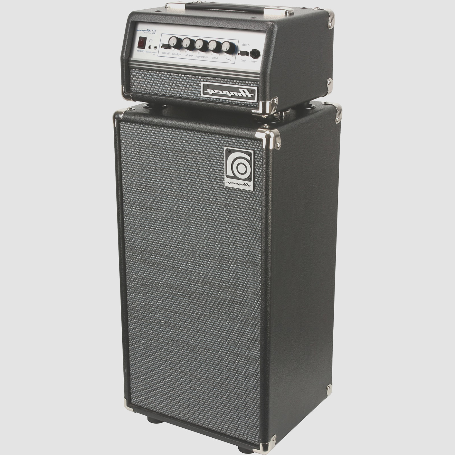 Ampeg Bass Head and Cabinet