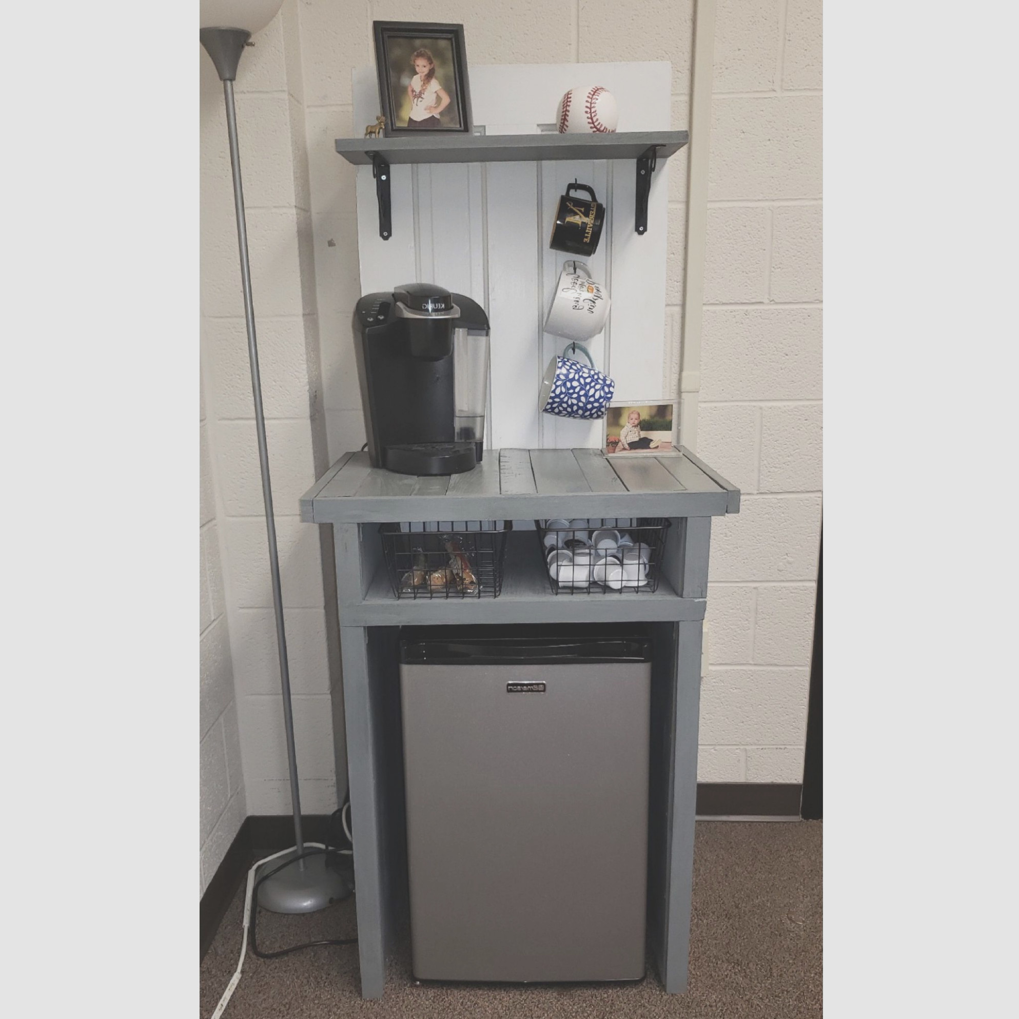 Bar Cabinet With Mini Fridge
