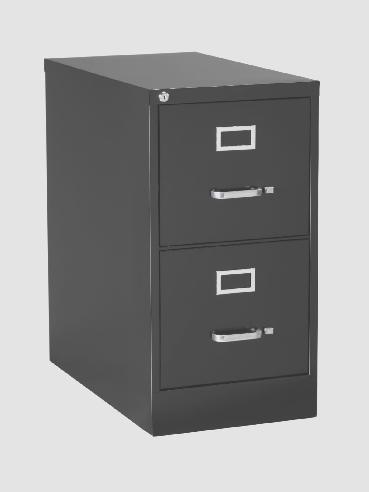 Black Metal File Cabinet 1 Drawer