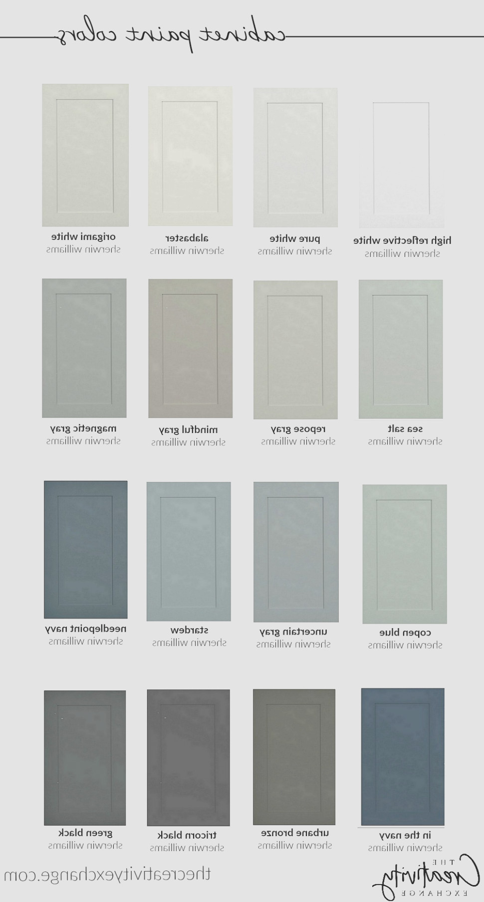 Cabinet Paint Colors 1