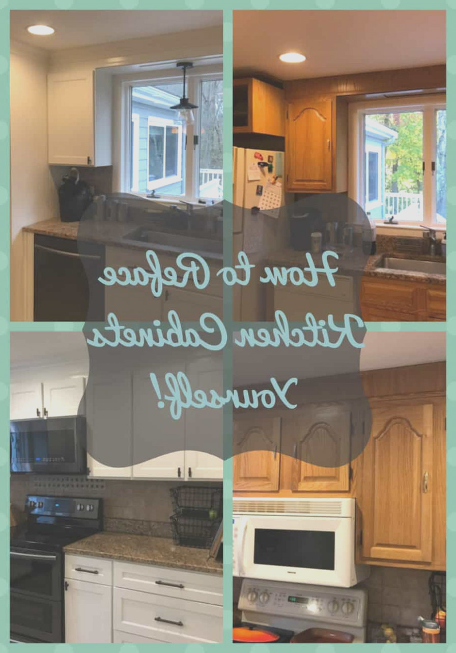 Can I Reface My Kitchen Cabinets Myself
