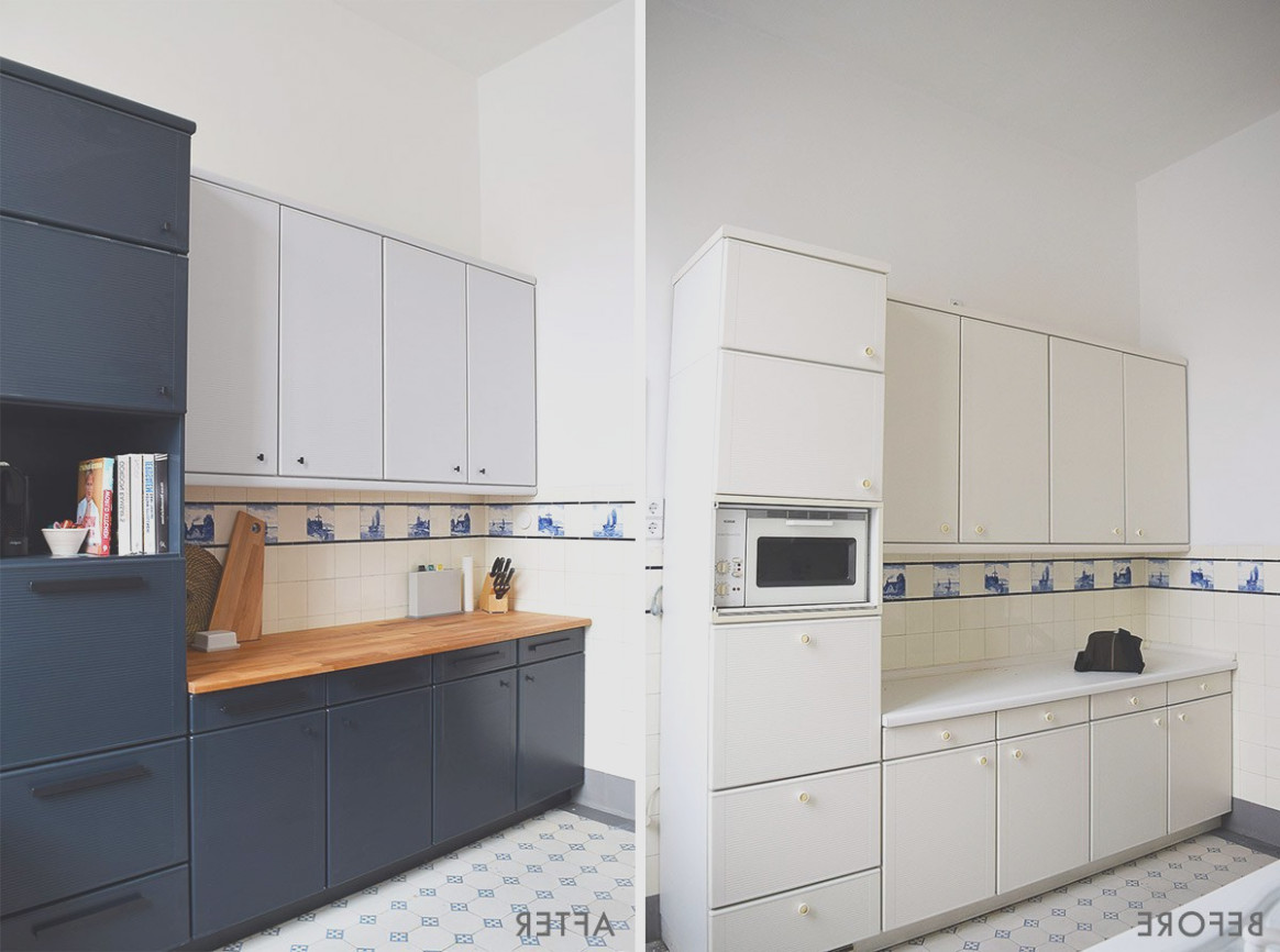 Can You Paint Prefab Cabinets