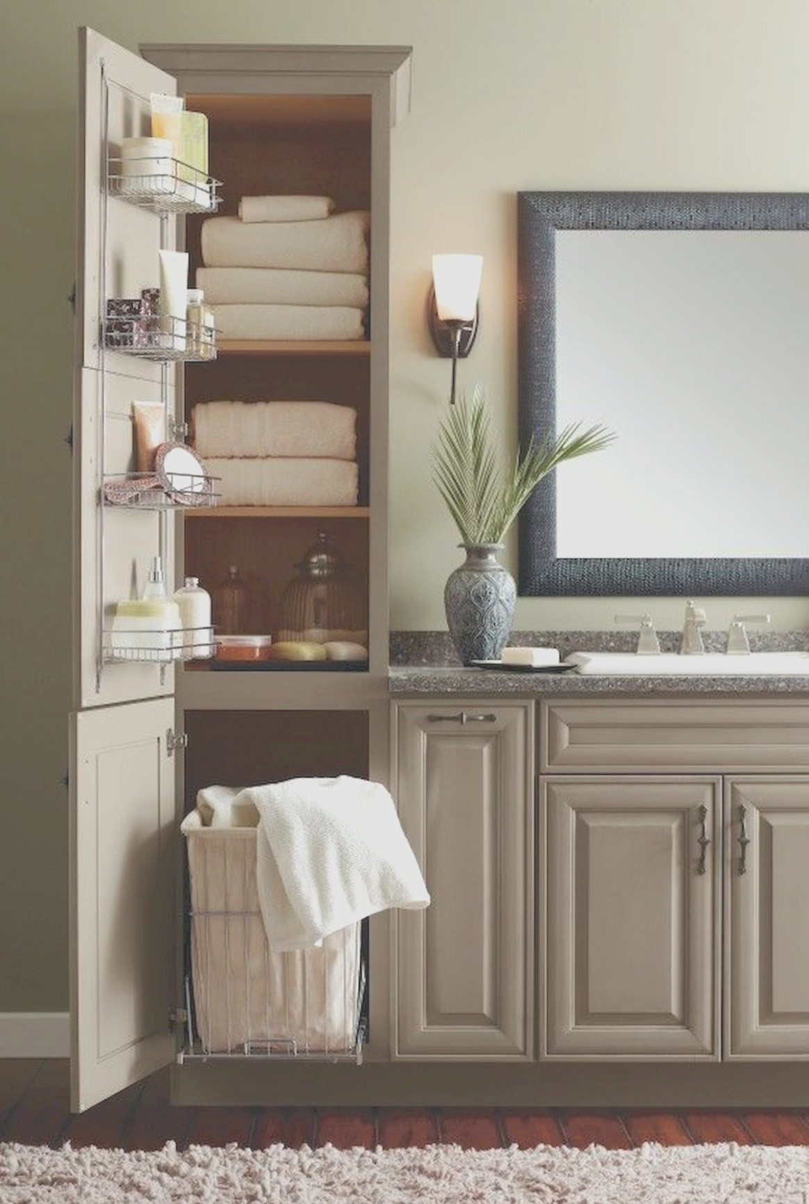 Cheap Bathroom Linen Cabinets