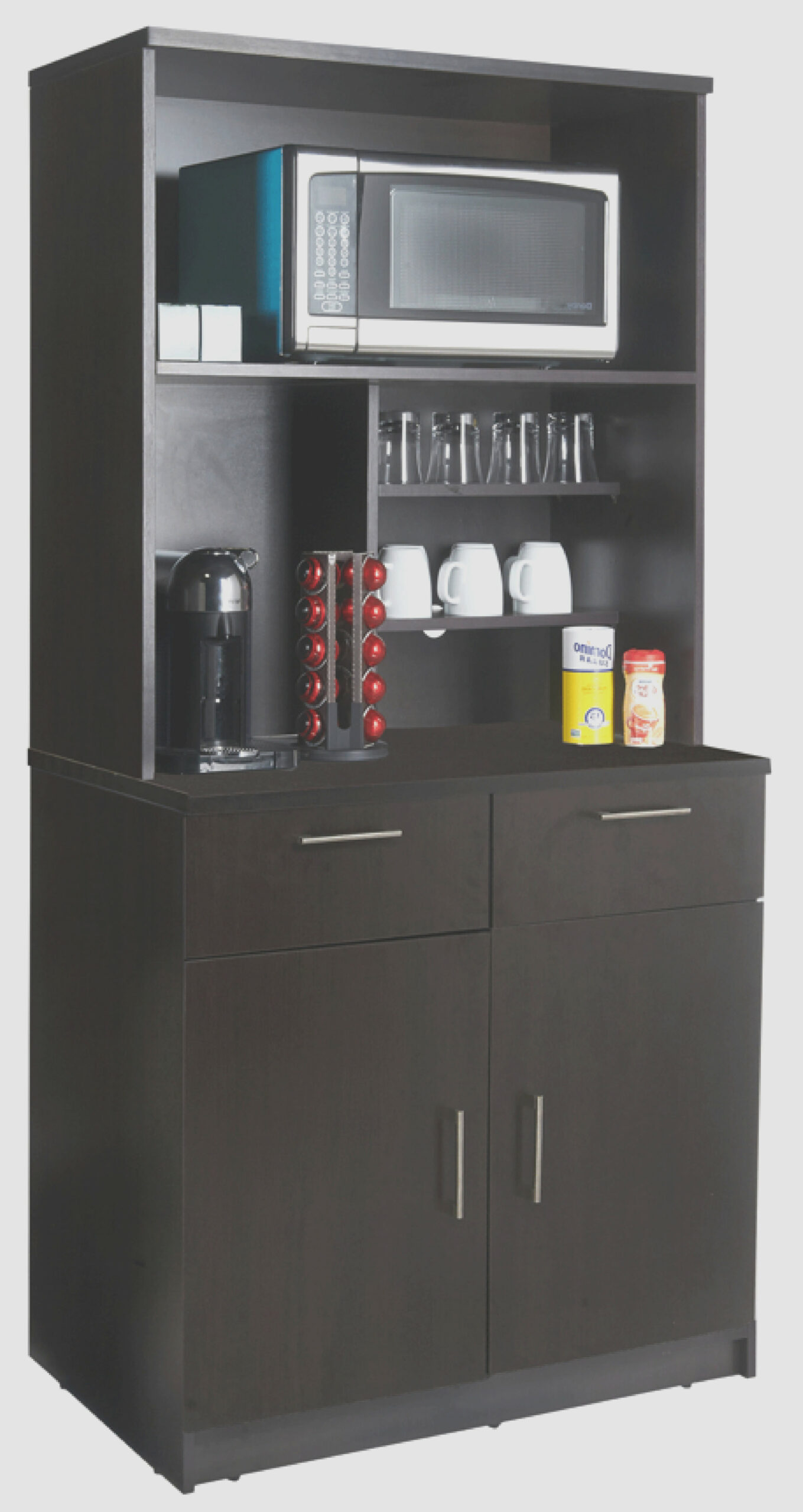 Coffee Kitchen Base Cabinet