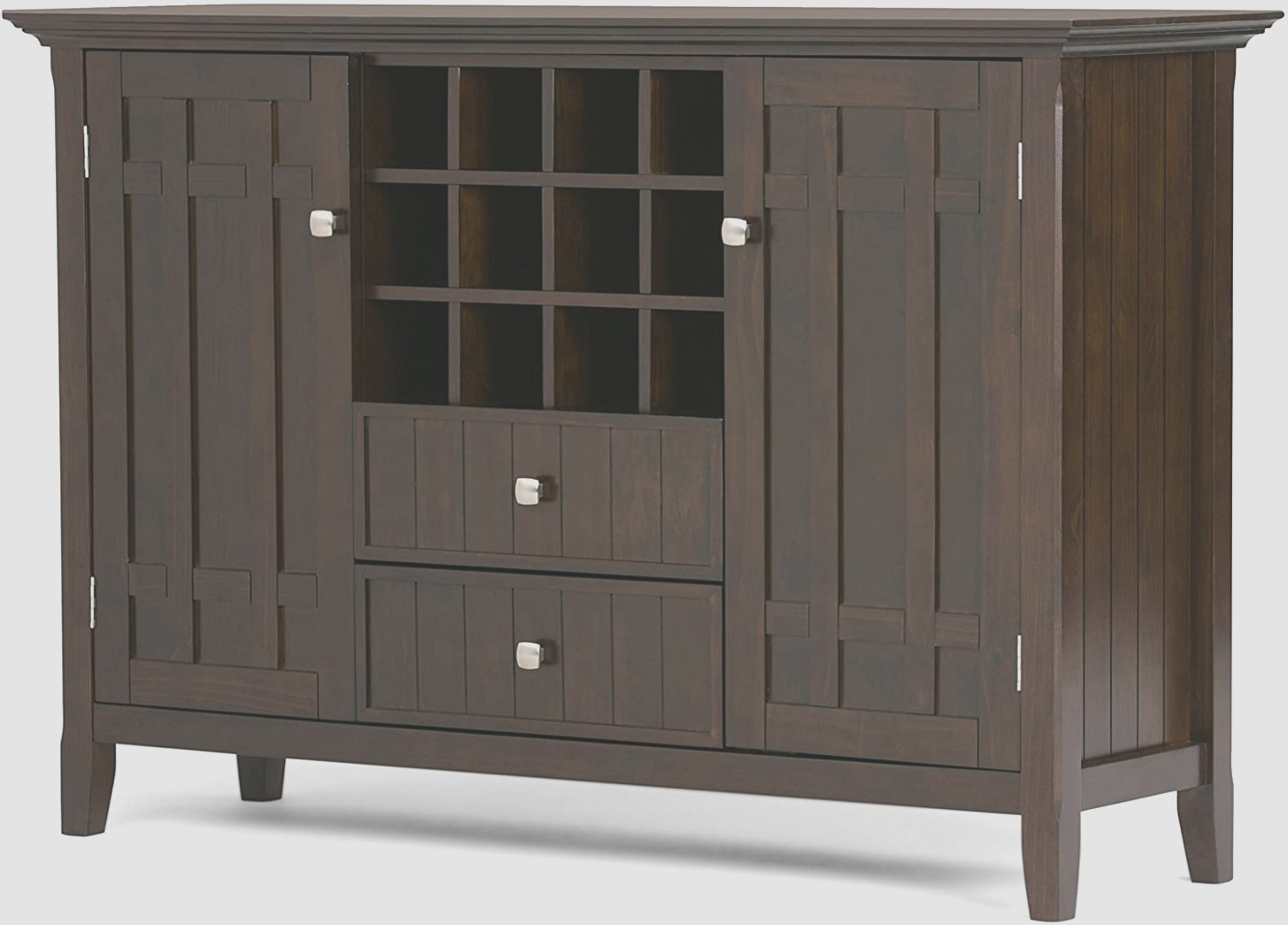 Dark Brown Sideboard Cabinet
