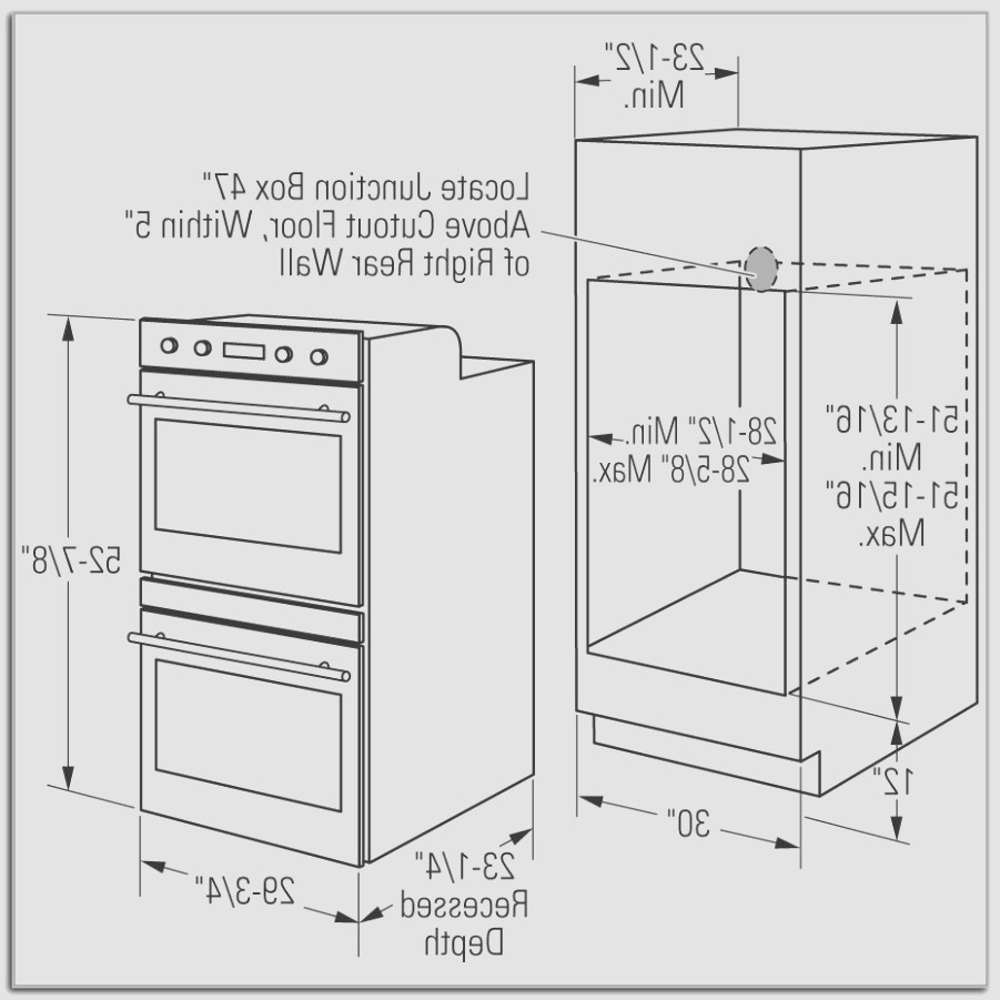 Double Oven Cabinet Plans