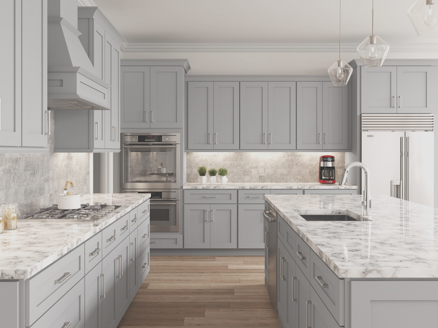 Dove Grey Paint for Kitchen Cabinets