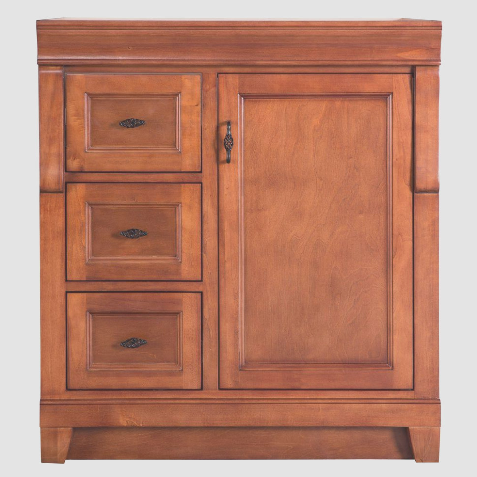Foremost Naples 1 in Vanity Cabinet