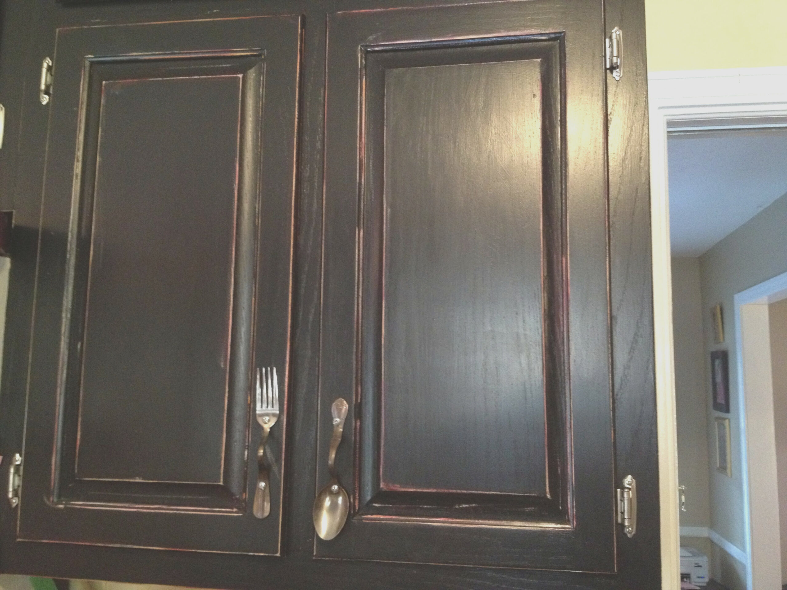 Fork and Spoon Kitchen Cabinet Hardware