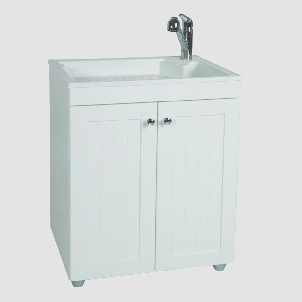 Glacier Bay Utility Sink With Cabinet