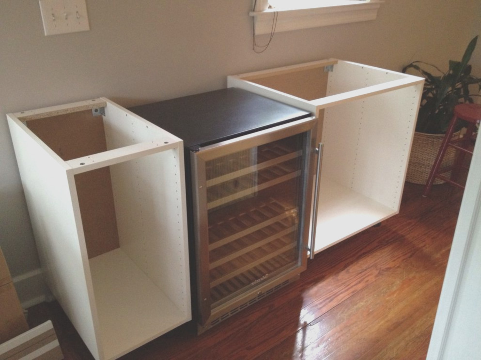 Ikea Bar Cabinet With Fridge