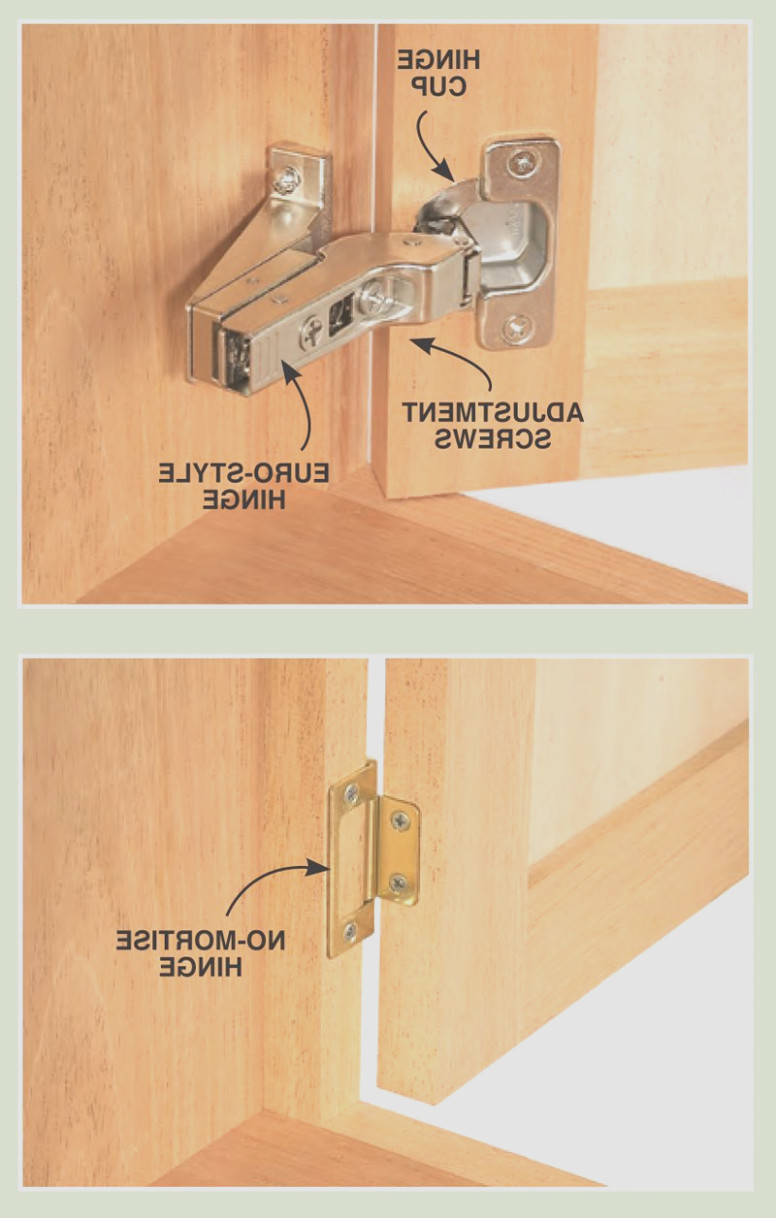 Install Inset Cabinet Hinges