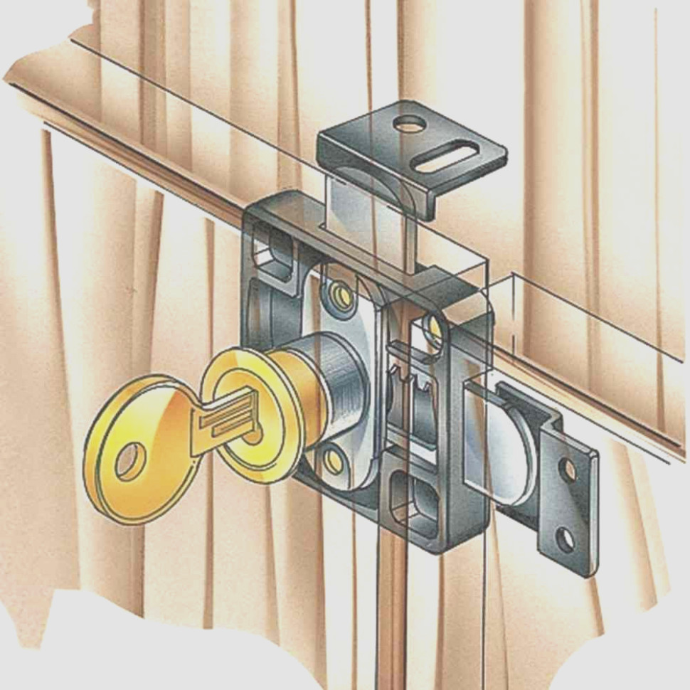 Kitchen Cabinet Door Locks