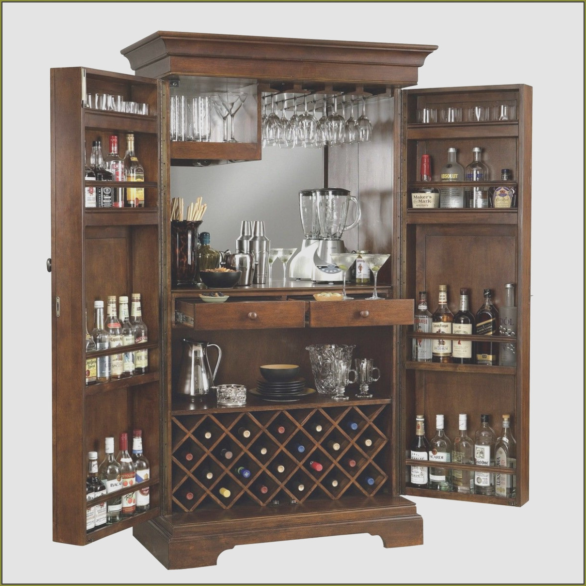 Locked Liquor Cabinet Ideas