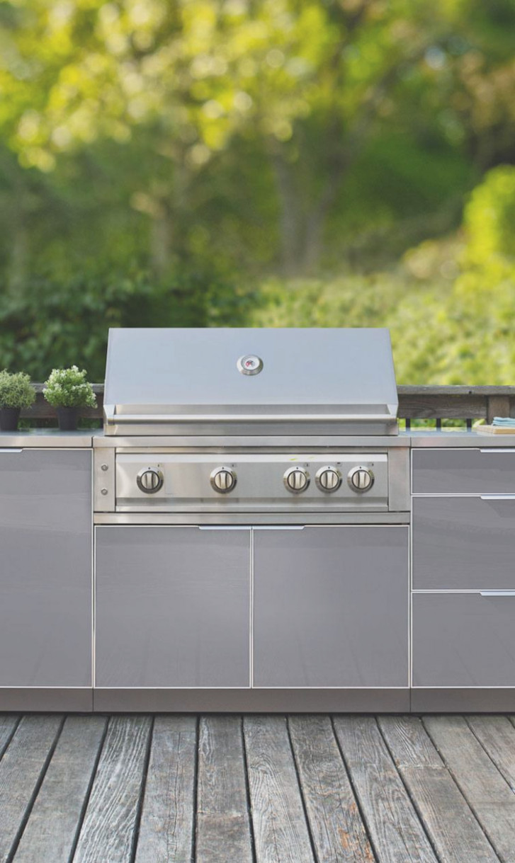 New Age Grill Cabinets