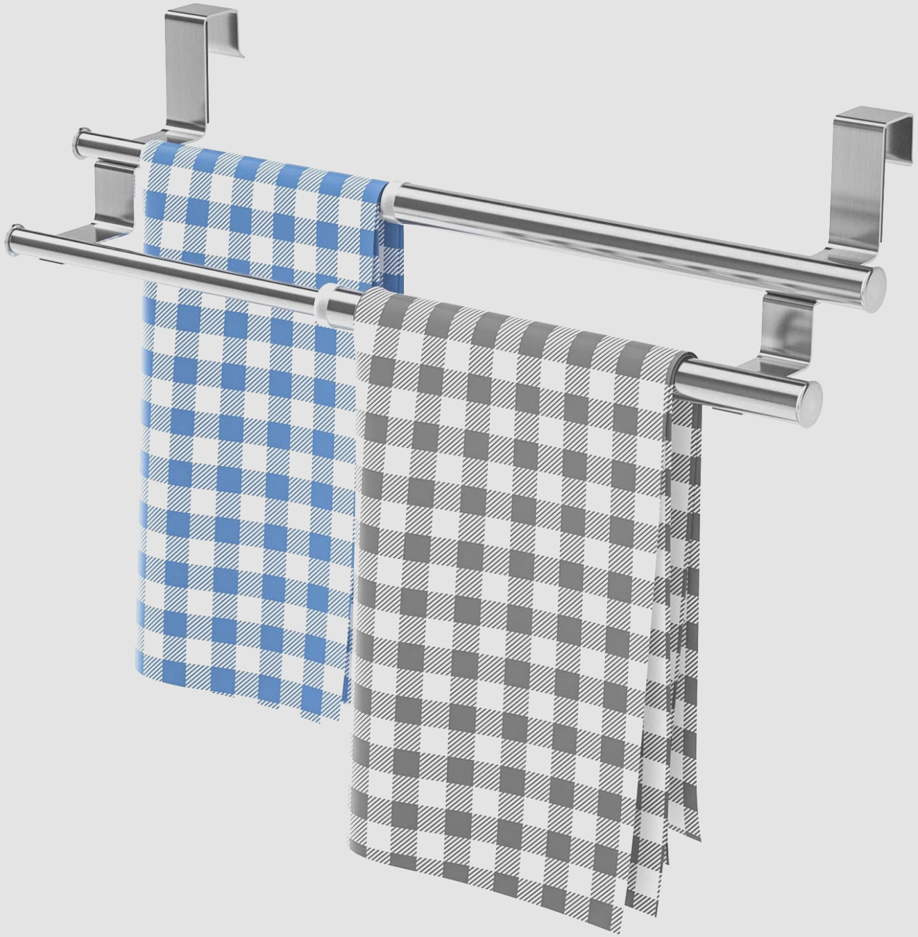 Over the Cabinet Kitchen Towel Holder