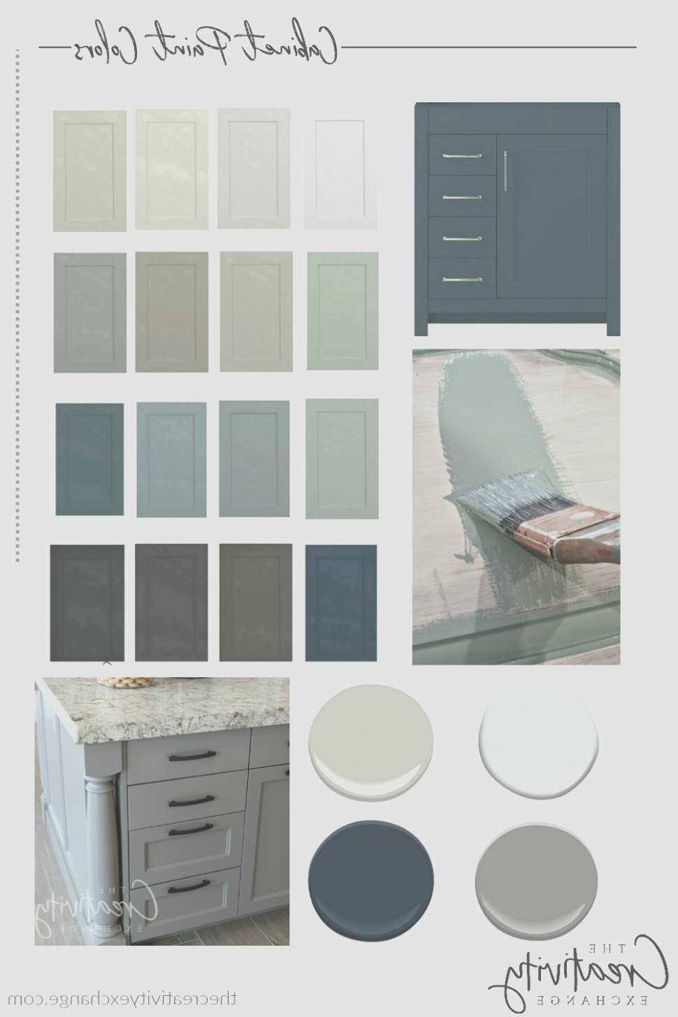 Popular Cabinet Colors 1