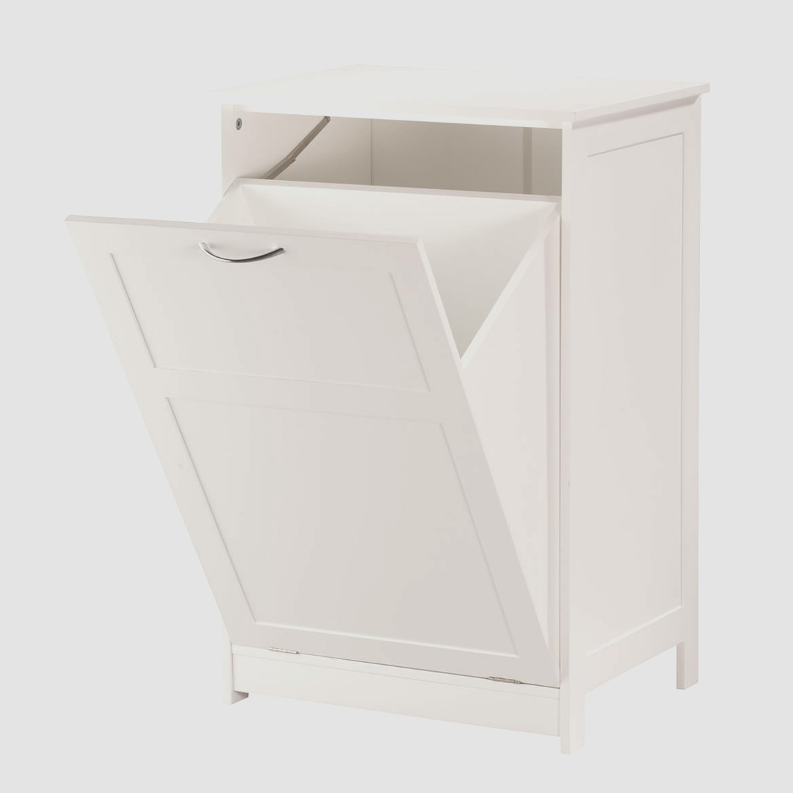 Pull Out Laundry Hamper Cabinet