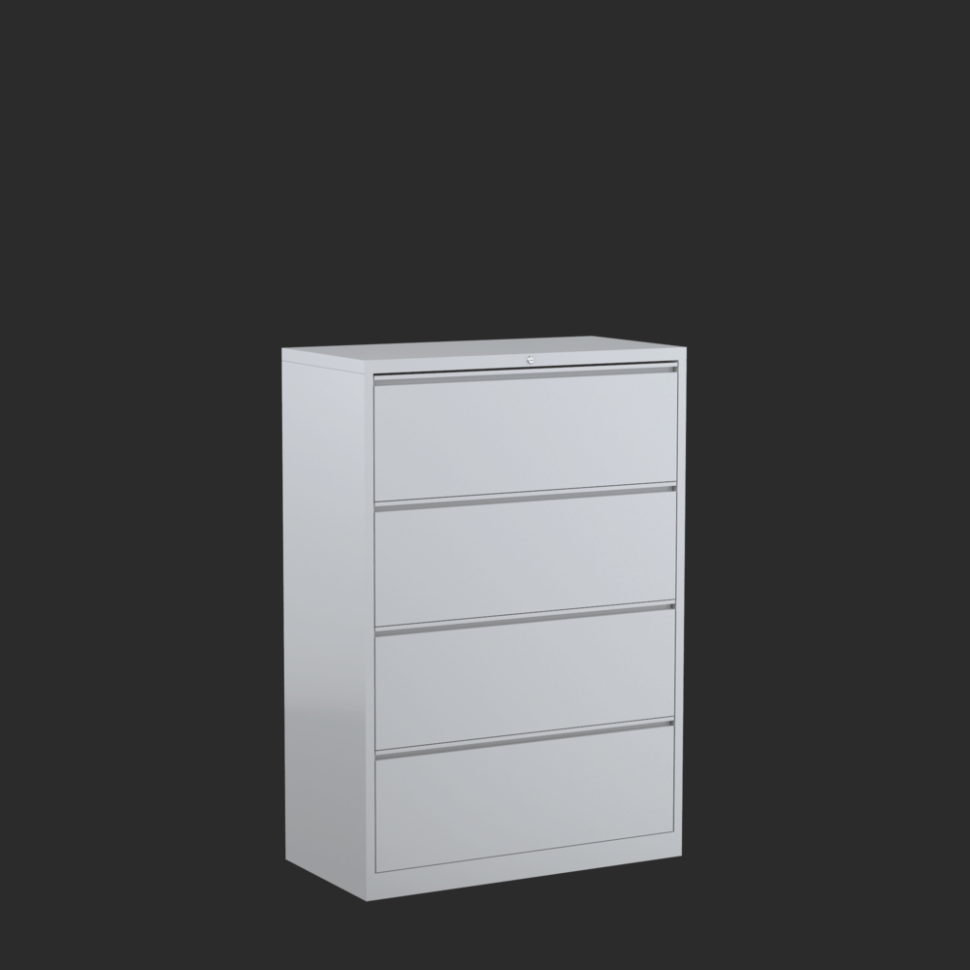 Shallow Lateral File Cabinet