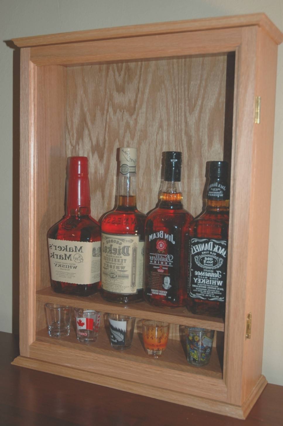 Small Liquor Cabinet With Lock
