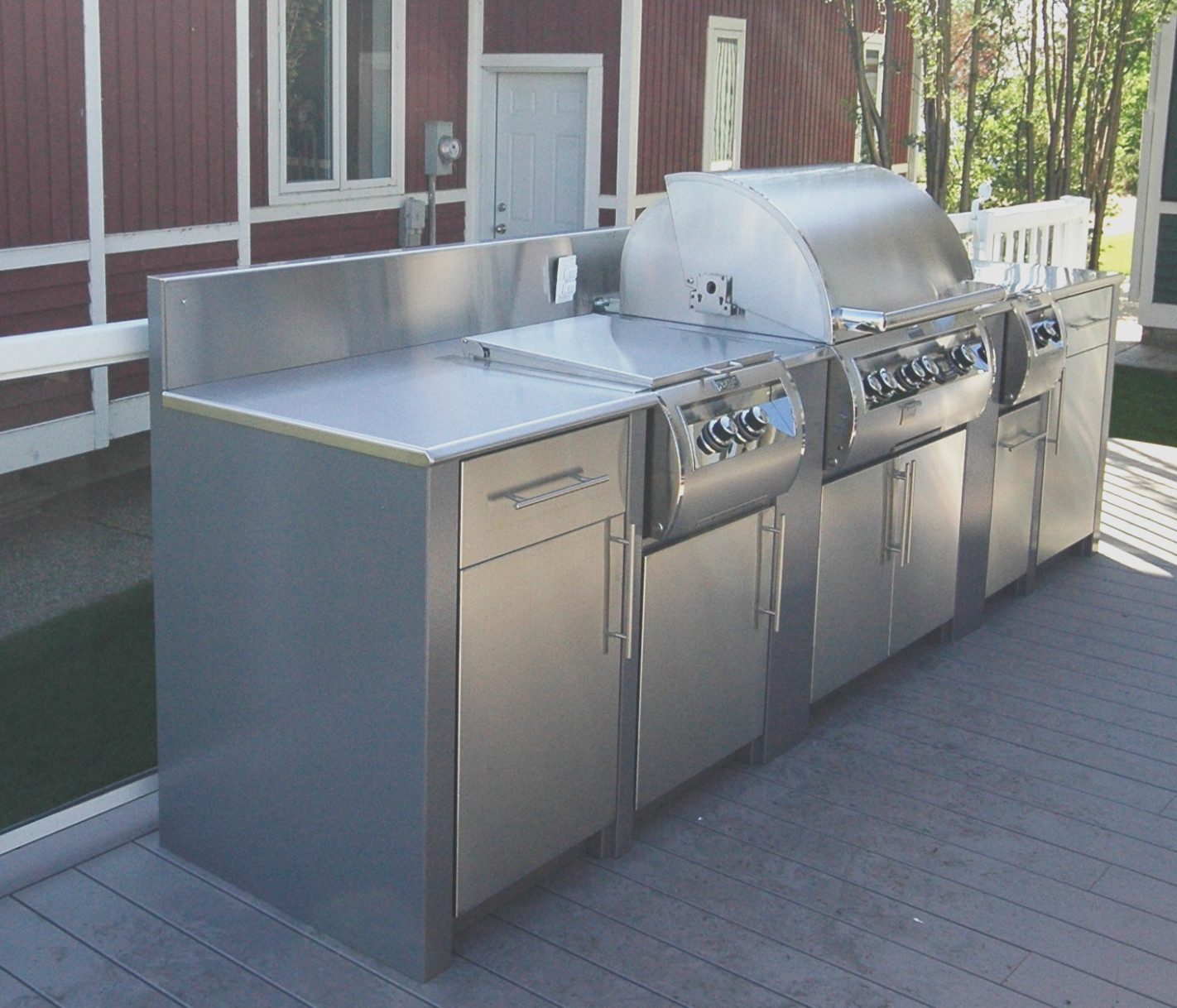Stainless Steel Outdoor Kitchen Cabinets Uk