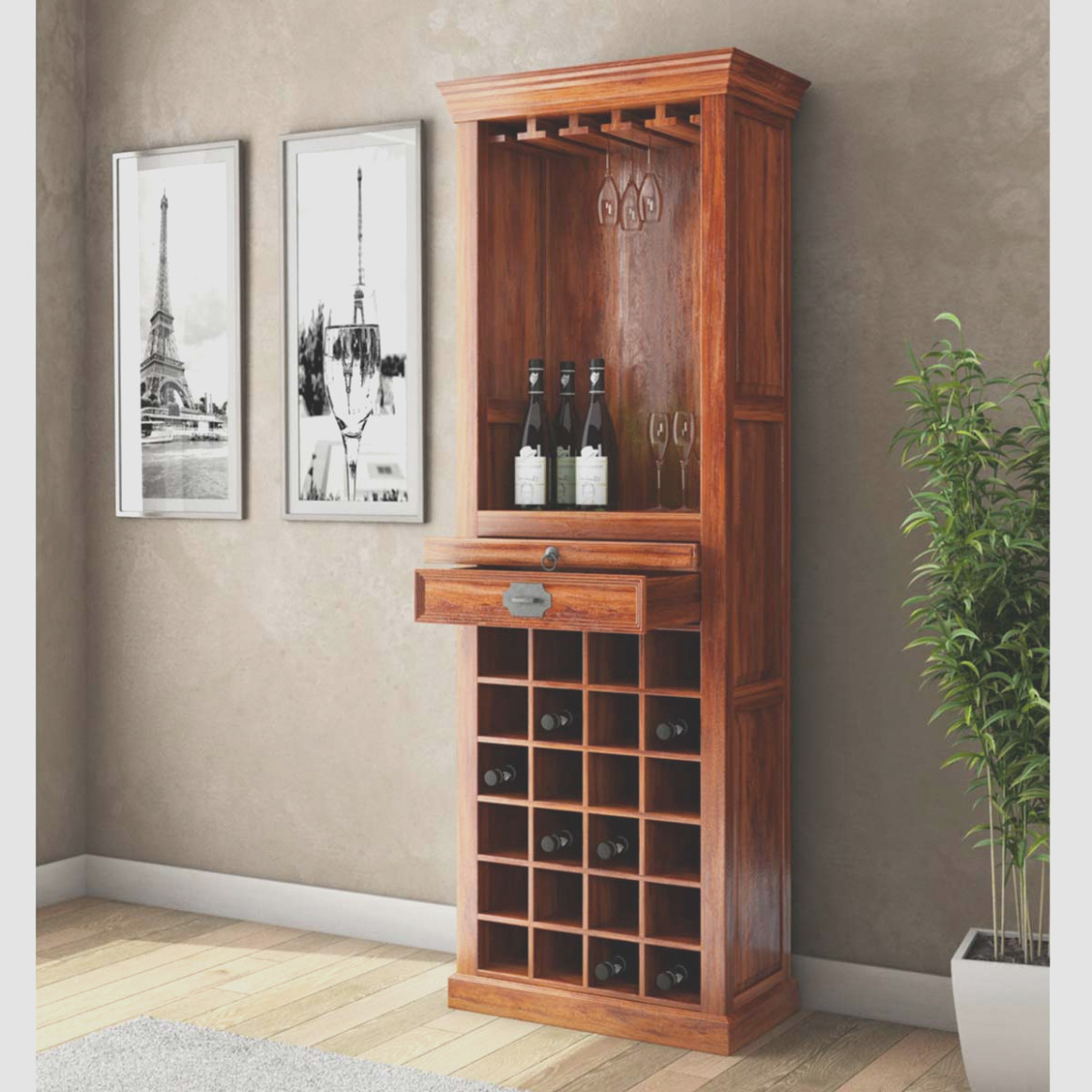 Tall Narrow Bar Cabinet