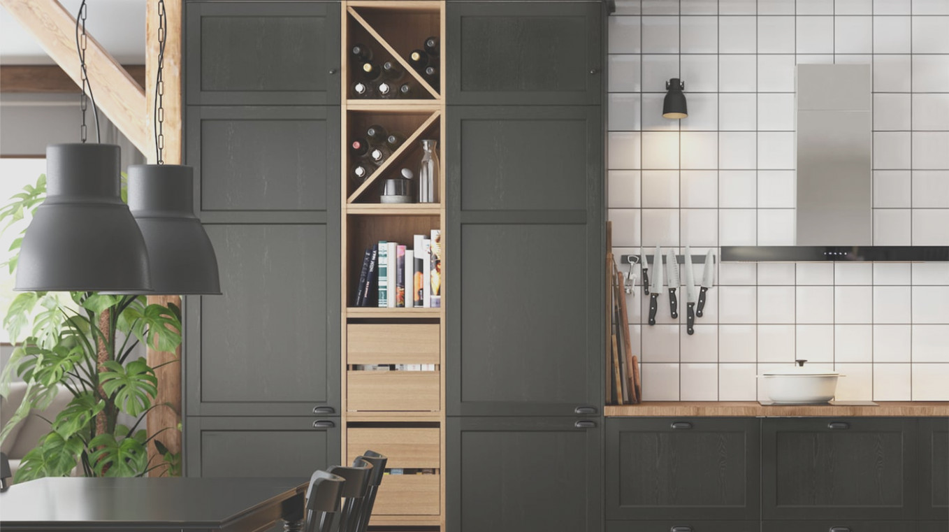 Tall Pantry Cabinet Ikea