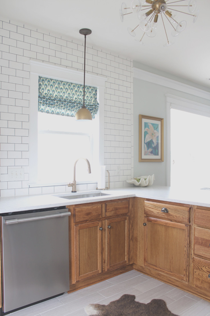 Updating Maple Cabinets Without Painting