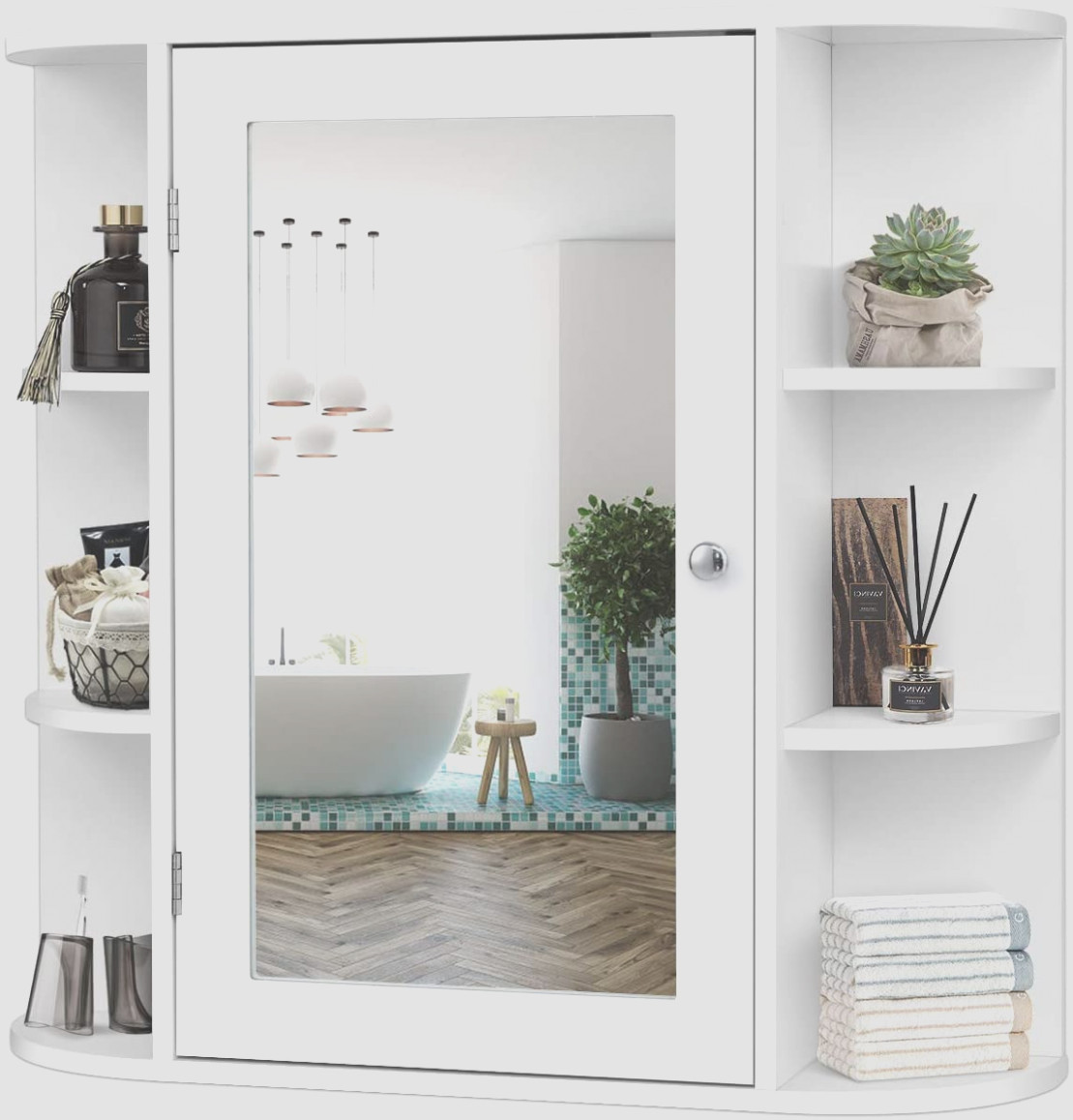 Wall Mount Medicine Cabinet With Mirror