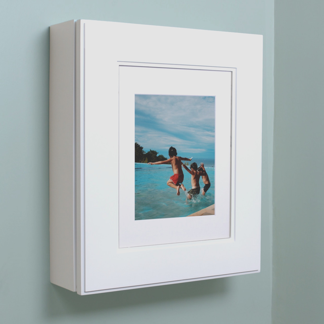 Wall Mount Picture Frame Medicine Cabinet