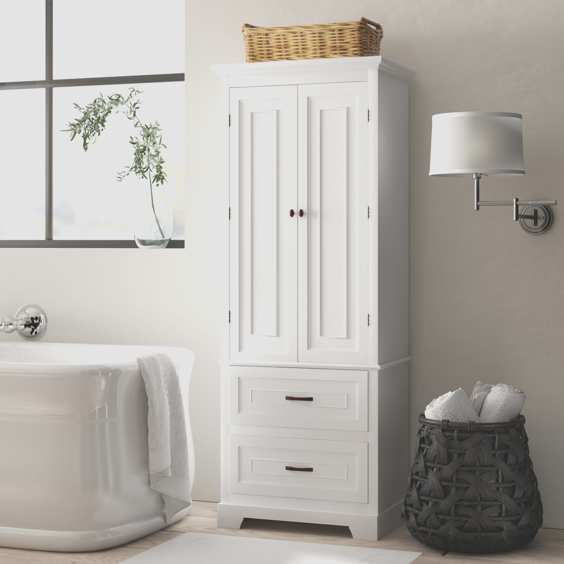 Wayfair Bathroom Linen Cabinets