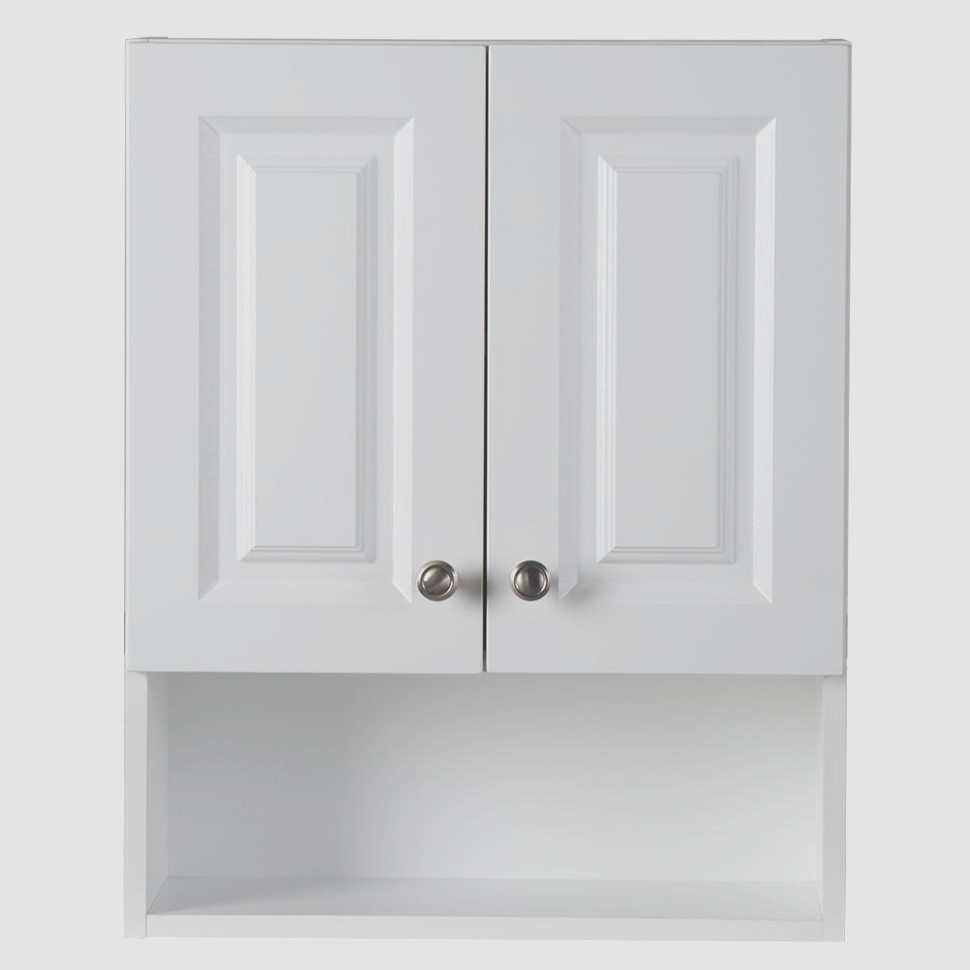 White Bath Wall Cabinet