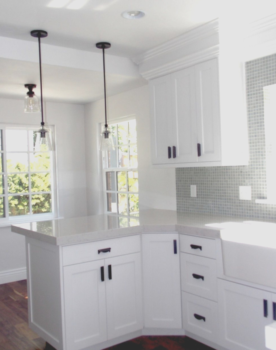 White Cabinets Black Handles