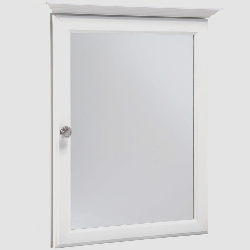 White Surface Mount Medicine Cabinet