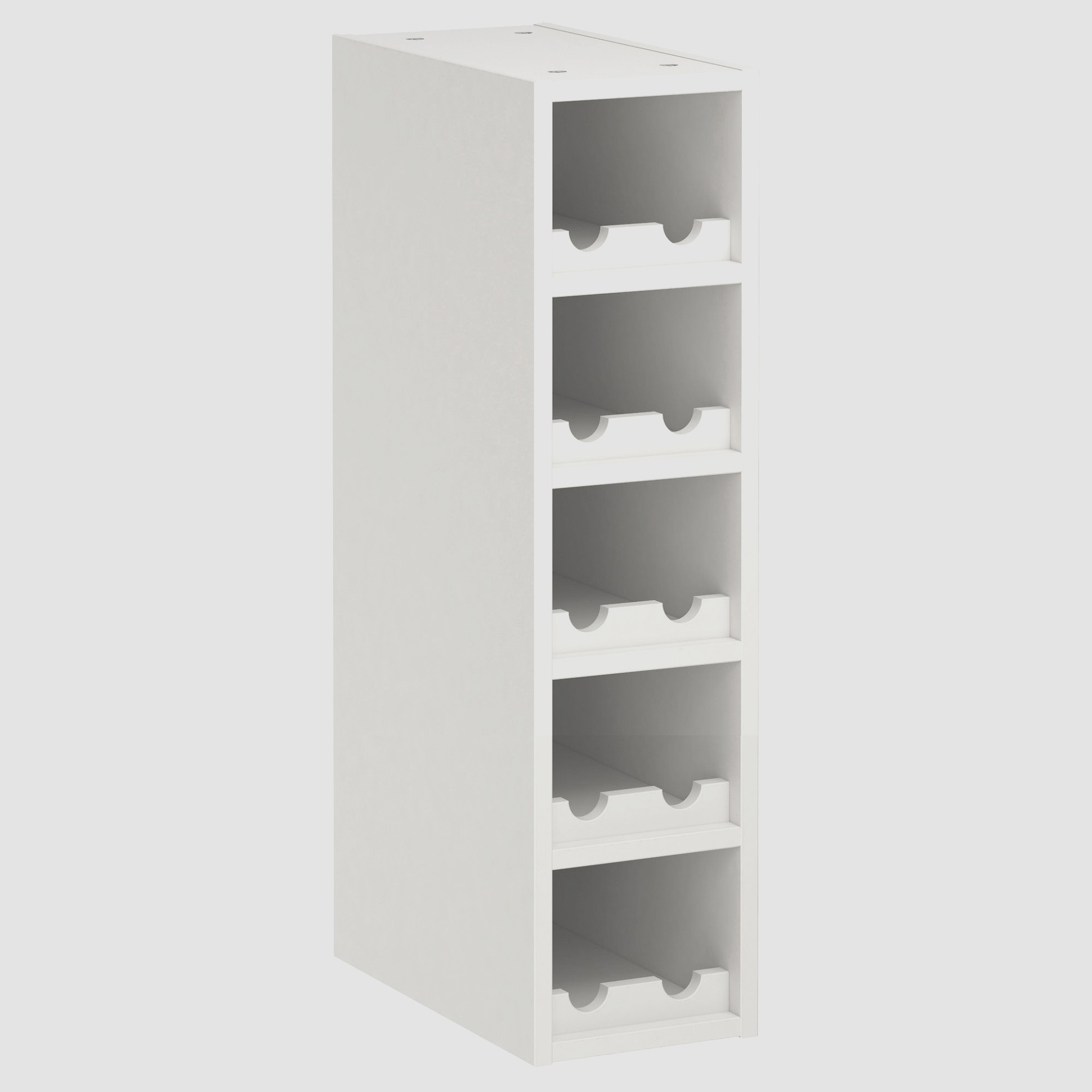 White Wine Rack Cabinet Ikea