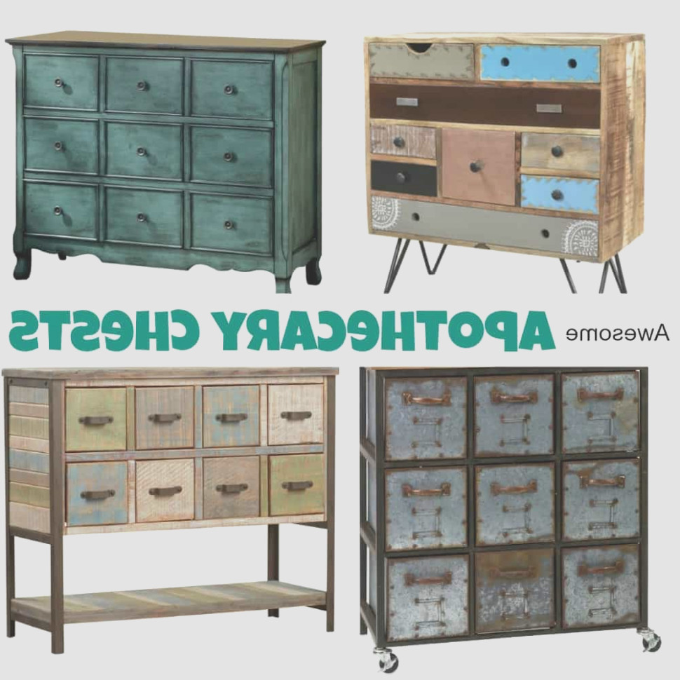 Apothecary Cabinets and Chests