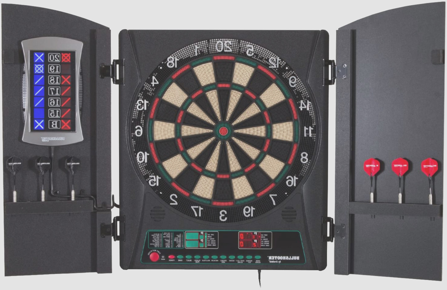 Arachnid Electronic Dart Board With Cabinet