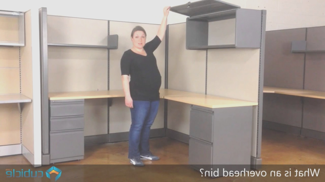 Cubicle Overhead Storage Cabinet