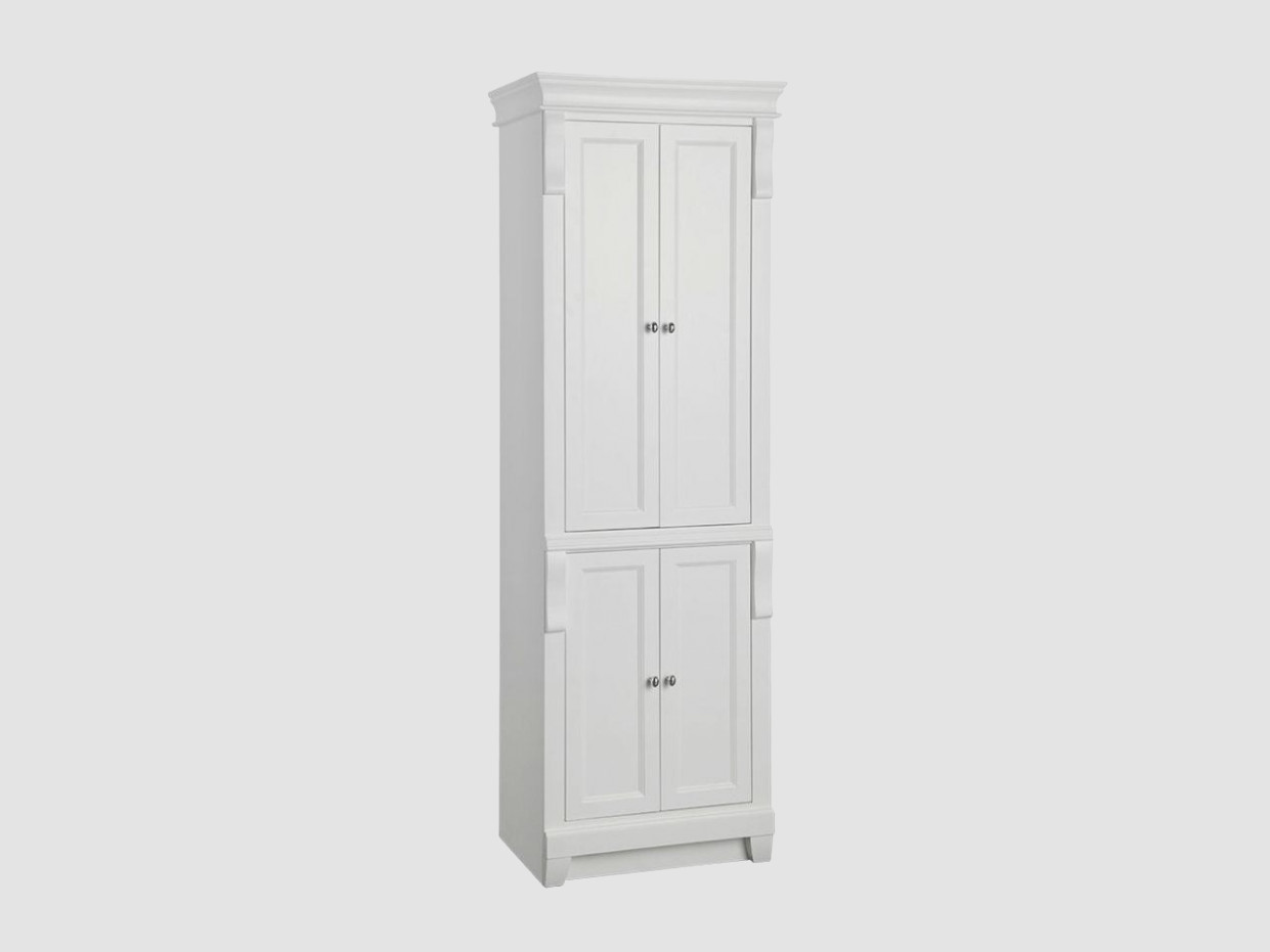 Foremost Naples Linen Cabinet White