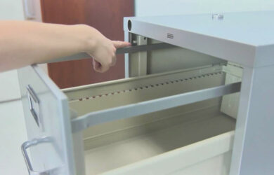 How To Install Lateral File Cabinet Rails - Lateral File Cabinet Locking Mechanism
