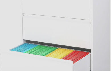 Metal Lateral Filing Cabinet for Legal Letter A1 Size Locking Wide  - Lateral Legal File Cabinet