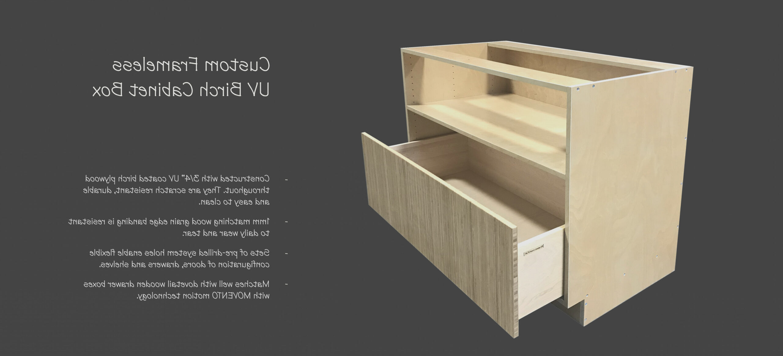 Rta Plywood Cabinet Boxes