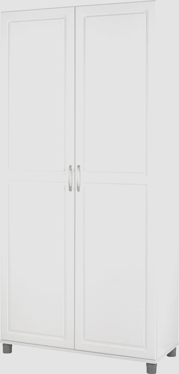 Systembuild Kendall 1 Utility Storage Cabinet White