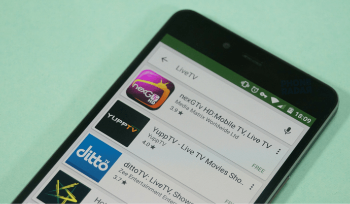 The TV Apps for Smartphones