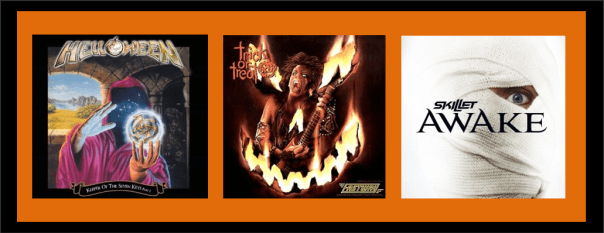 Three For Thursday - Halloween 2013 - Helloween, Fastway, Skillet