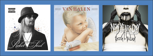 Three For Thursday - Kid Rock, Van Halen, New Years Day