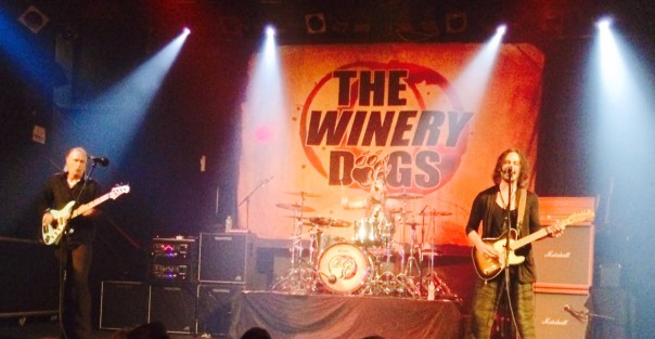 The Winery Dogs at The Chance in Poughkeepsie on 8-2-14