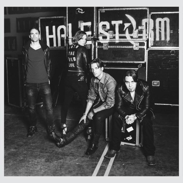 Halestorm Into The Wild Life Band Photo