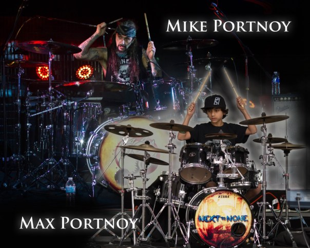 Generations Of Rock - Mike and Max Portnoy